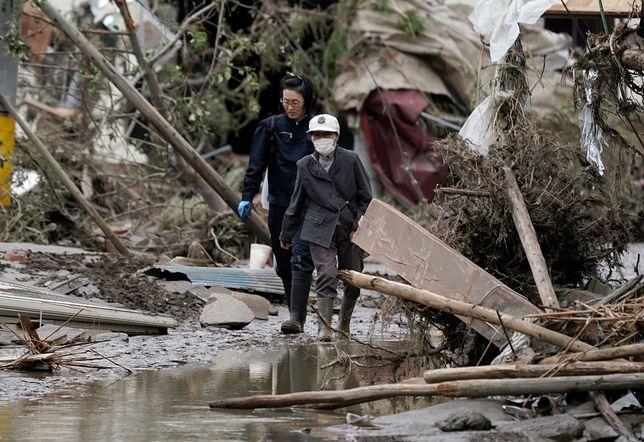 Japonia walczy z tajfunem Hagibis. Rośnie liczba ofiar