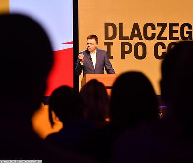Szymon Hołownia ogłasza start w wyborach prezydenckich.