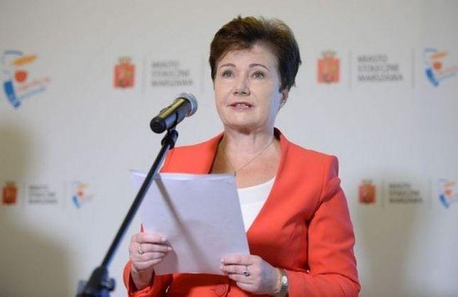 """Gronkiewicz-Waltz będzie współpracować z Dudą. """"Zaproponował mi to Grzegorz Schetyna"""""""