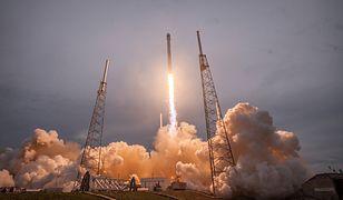 SpaceX wystrzelił satelitę przy użyciu rakiety Falcon 9