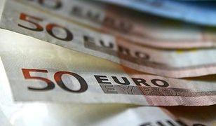 Euro drożeje trzeci dzień z rzędu