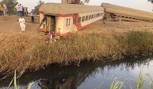 Katastrofa kolejowa w Egipcie. Zabici i ponad 100 rannych