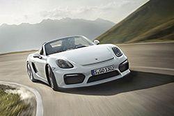 Porsche Boxster Spyder pręży muskuły