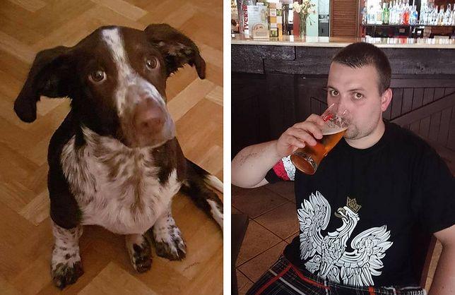 Skatował psa, szuka go cała Polska. W sieci szkalują jego syna