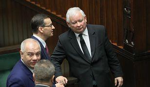 Jarosław Kaczyński w Sejmie. Prezes PiS chce stworzyć województwo warszawskie