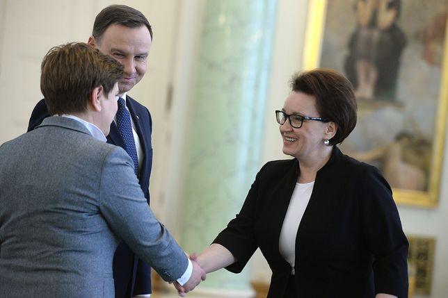B. Szydło, A. Duda, A. Zalewska