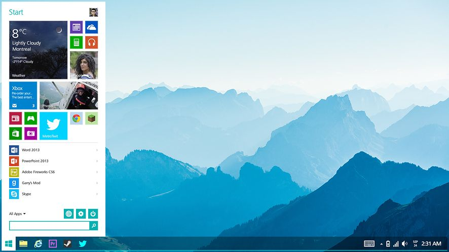 Tak powinien wyglądać Windows 8.2!