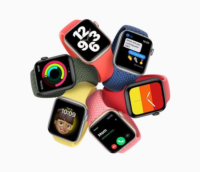 Kolekcja Apple Watch SE 2020, fot. Apple.