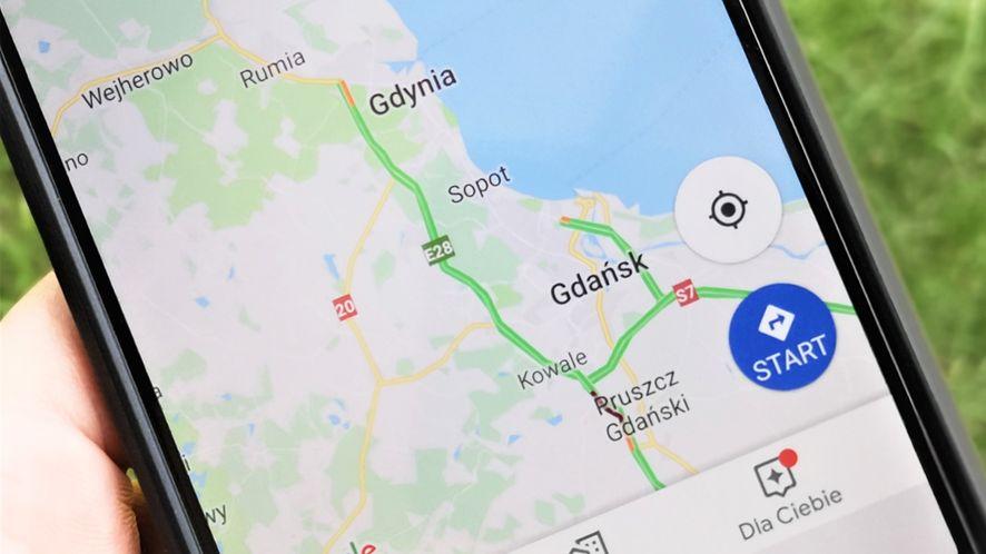 Google testuje nowy interfejs Map Google, fot. Oskar Ziomek
