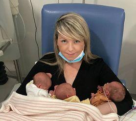 Urodziła czwórkę dzieci w rok. Była w szoku