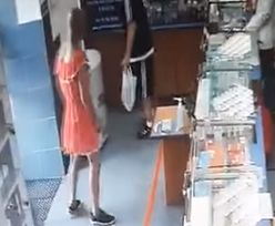 Kielczanie biją na alarm. Mężczyzna w sukience okrada apteki i sklepy