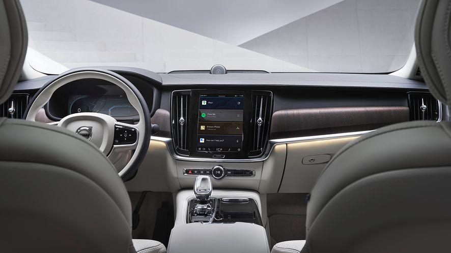 W nowych i odświeżonych modelach Volvo pojawi się system oparty na Androidzie (fot. mat. prasowe Volvo)