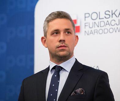 Robert Lubański, członek zarządu Polskiej Fundacji Narodowej