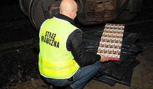 Przemyt papierosów z Białorusi