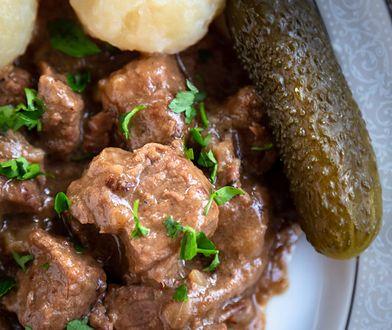 Gulasz austriacki według przedwojennej receptury. Jest pyszny!