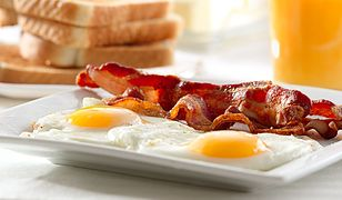Bekon to śniadaniowa klasyka!