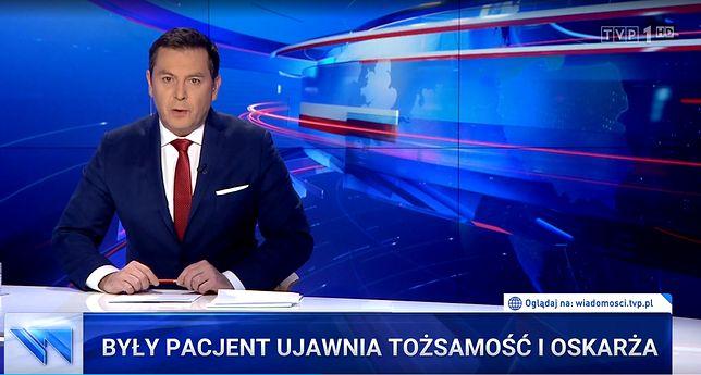 """""""Wiadomości"""" TVP krytykowane za materiały o Tomaszu Grodzkim. Rada Etyki Mediów donosi o """"nagonce"""""""