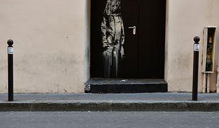 Kolejna praca Banksy'ego została skradziona