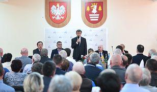 Marszałek Sejmu Marek Kuchciński spotkał się z mieszkańcami Suchej Beskidzkiej