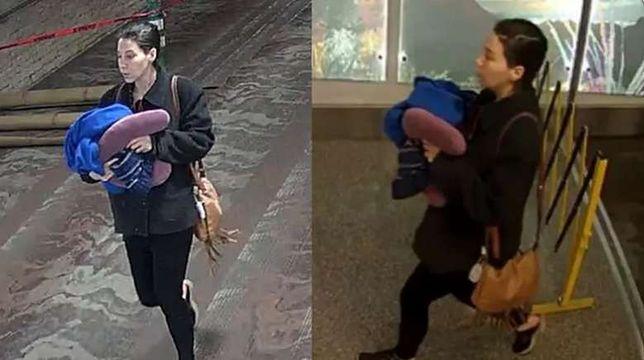 Kobieta, która urodziła na hali odlotów, porzuciła dziecko w lotniskowej toalecie