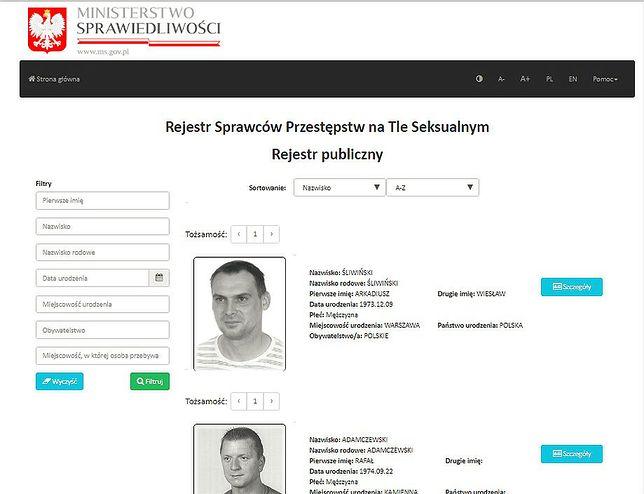 Sąd Okręgowy we Wrocławiu wykreślił z rejestru przestępców seksualnych sześciu mężczyzn. Także Tomasza Komendę