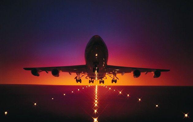 Striptiz w kokpicie - czyli jak nie nudzić się w samolocie