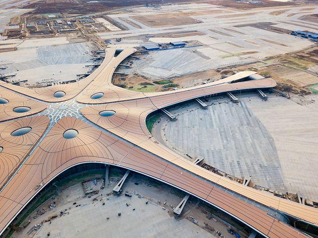 Największe lotnisko świata. Pekin-Daxing szykuje się na otwarcie