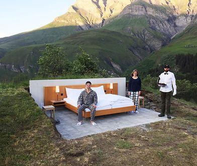 Szwajcarski hotel bez ścian