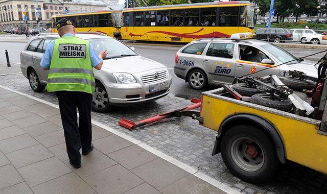 Za co grozi odholowanie auta?