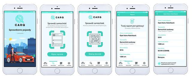 Aplikacja mobilna CarQ.pl