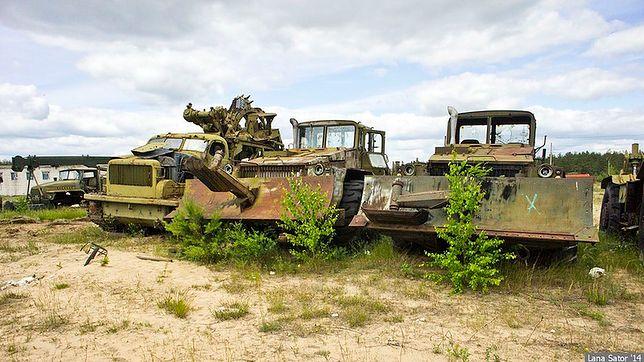 Opuszczony, rosyjski sprzęt wojskowy