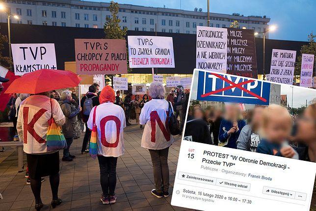 """Siostrzeniec premiera organizuje protest przeciwko TVP. """"Jest tubą propagandową rządu"""""""