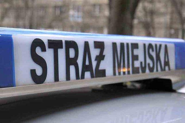 Warszawa. Strażnicy wezwali policję do pijanego opiekuna dziecka