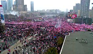 Według Stanisława Żaryna obraz Marszu Niepodległości został zniekształcony