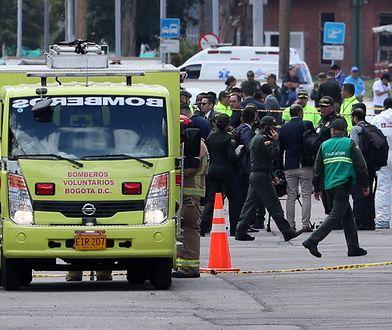 Władze Kolumbii nie podają czy wśród poszkodowanych w wybuchu w akademii policyjnej w Bogocie są cywile