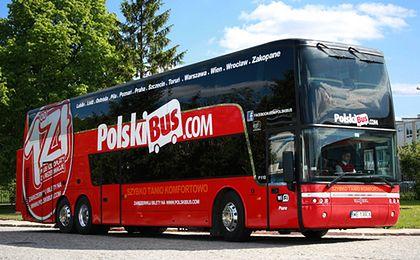 Polski Bus dojedzie do pięciu nowych miast