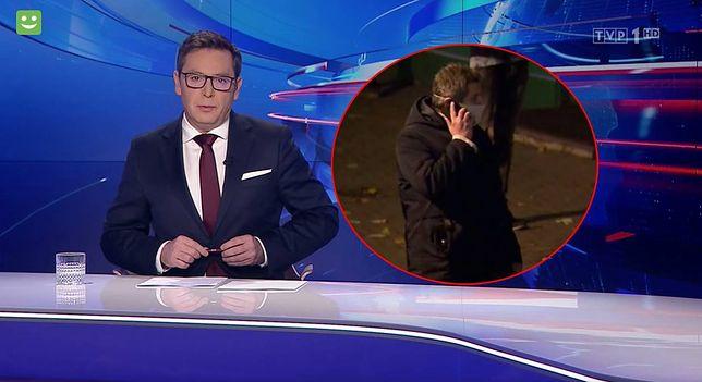 """Manipulacja """"Wiadomości"""" TVP zdemaskowana. Ujawniono, kim jest tajemniczy mężczyzna"""