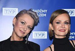 Kasia Stankiewicz na ramówce TVP. Sukienka odkrywała dość dużo