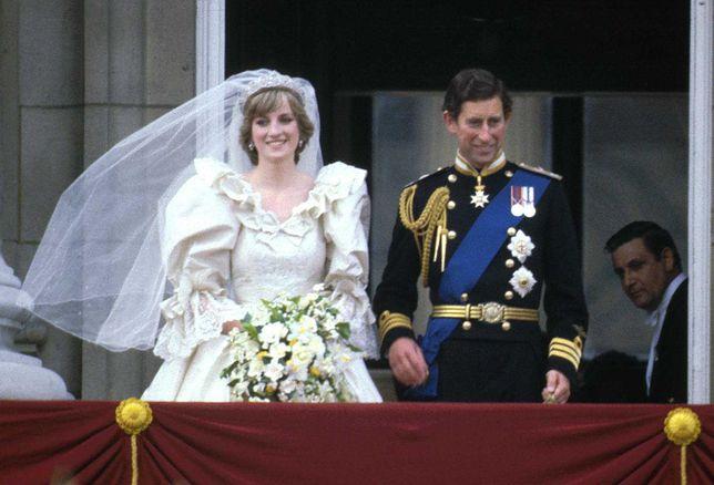 Diana Spencer i książę Karol wzięli ślub 29 lipca 1981 roku