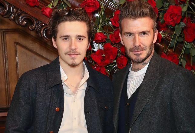 Brooklyn jest najstarszym synem Davida i Victorii Beckham