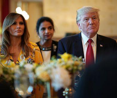 Wizyta Donalda Trumpa od kuchni
