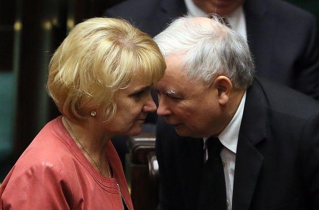Wzruszające słowa Jarosława Kaczyńskiego o zmarłej koleżance z partii