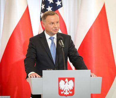 """""""Andrzej Duda nie dostał zaproszenia z USA"""". Stanowcza reakcja Pałacu Prezydenckiego"""