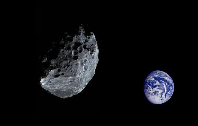 Asteroida zbliża się do Ziemi. Przetnie orbitę naszej planety. Co to oznacza?