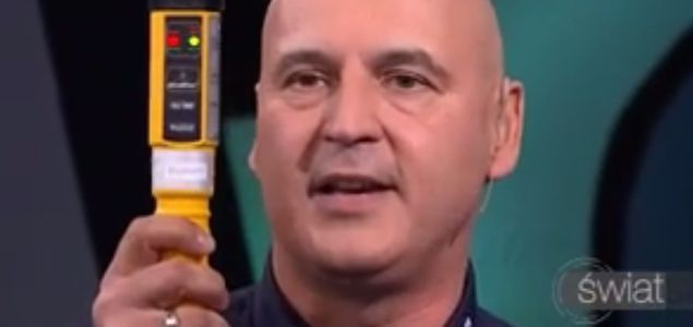 """""""Świat się kręci"""": policjant tłumaczy się z wpadki z alkomatem"""