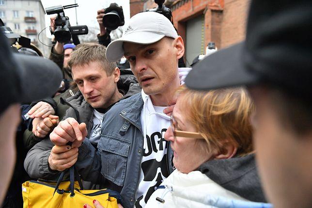 Tomasz Komenda po opuszczeniu więzienia. 15 marca 2018 r.