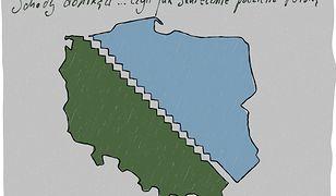 Schody donikąd... czyli jak skutecznie podzielić Polskę
