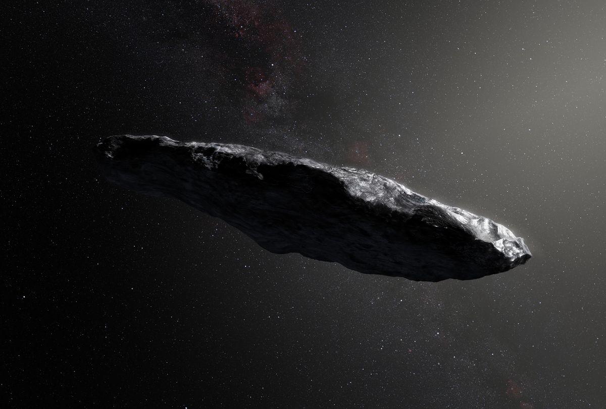 Ilustracja przedstawiająca Oumuamuę