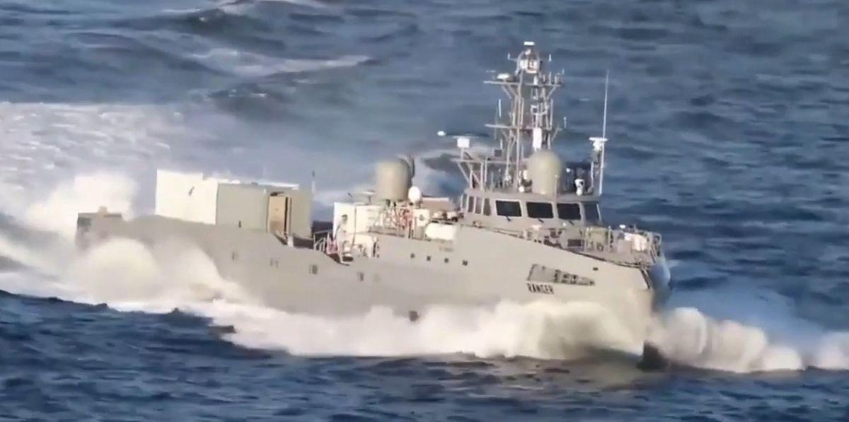 """Marynarka Wojenna USA wystrzeliła pocisk z """"okrętu-widmo"""""""