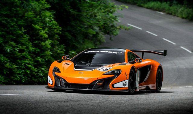 McLaren 650S GT3: tylko na tor